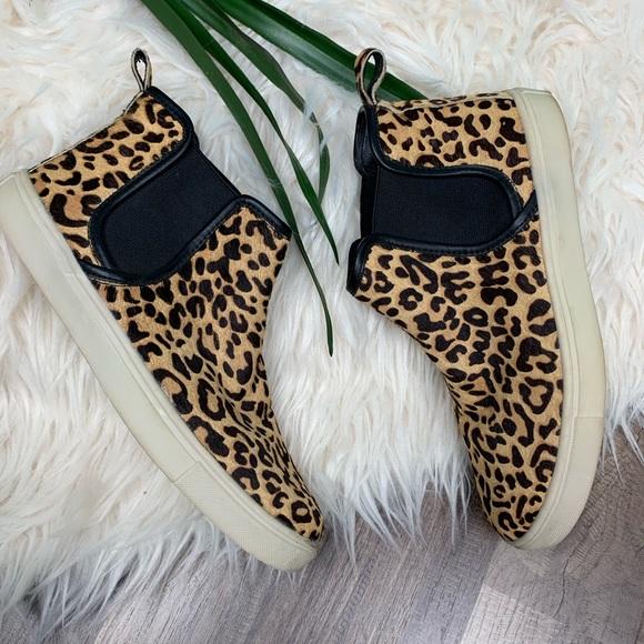 e4ee90e3852 Steve Madden Elvinn leopard print high top shoes. M 5c663792c617772ed3cd9202